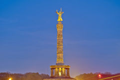 The Siegessaule at Berlin, Germany stock images