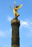 The Siegessaule in Berlin Royalty Free Stock Photography