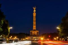 Siegessäule in Berlin Stock Photography