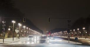 Siegessäule Traffic Stock Images