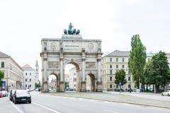 Siegestor à Munich Photo stock