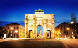 The Siegestor Royalty Free Stock Photos