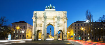 The Siegestor Stock Image