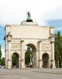 Siegestor in München Royalty-vrije Stock Foto's