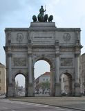 Siegestor in Munich Royalty Free Stock Photography
