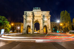 Siegestor Victory Arch Munich Germany Royalty Free Stock Image