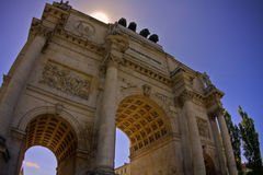 Siegestor (Victory Gate) Stock Photography