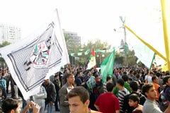 Siegfeiern in Gaza Lizenzfreie Stockbilder