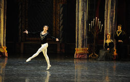 When Siegfried aware of all this time, shocked-The prince adult ceremony-ballet Swan Lake Stock Photos