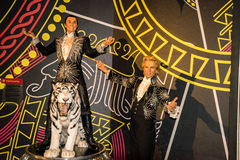 Siegfried and Roy Stock Photos