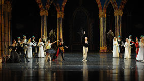 Siegfried wrong oath.-The prince adult ceremony-ballet Swan Lake Stock Image