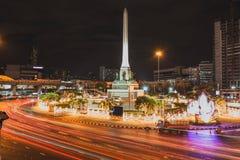 Siegmonument-Bangkok-Markstein Thailand Stockbilder