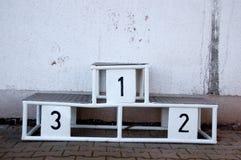 Siegpodium Lizenzfreies Stockfoto