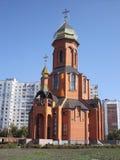Siegreiche Georges Kirche Lizenzfreie Stockfotografie