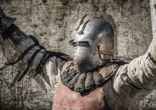 Siegreicher Ritterlord Lizenzfreies Stockbild