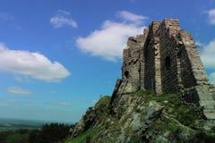 Siegue el castillo del poli Imagen de archivo