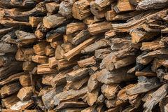 Siekać bele drewno Zdjęcie Royalty Free