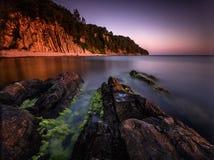 Siekać morze Obrazy Royalty Free