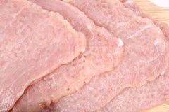 sieka wieprzowiny surowego obrazy royalty free