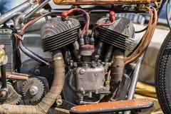 Siekacza silnika szczegóły Fotografia Stock