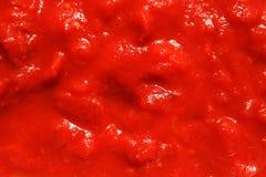 Siekający śliwkowi pomidory Obraz Royalty Free