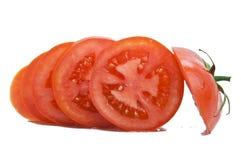 siekający pomidor fotografia stock