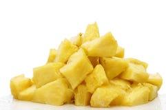 siekający ananas Obrazy Royalty Free