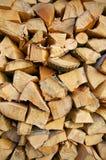 Siekający drewno zdjęcie stock