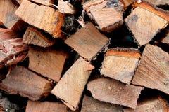 Siekający drewno Obraz Royalty Free