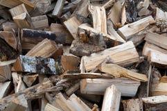 siekający palowy drewno zdjęcia royalty free
