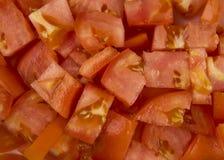 Siekający Pomidory Fotografia Royalty Free