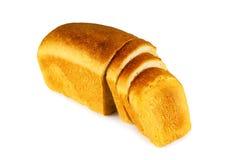 Siekający pszeniczny chleb Obrazy Stock