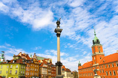 Siekierkowski. Postcard from Warsaw in Poland Royalty Free Stock Images