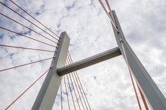 Siekierkowski-Brücke Stockfotografie