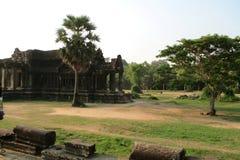 Siem del khmer de Camboya Angkor Wat Ancient Library imagen de archivo