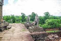 Siem oogst Angkor royalty-vrije stock afbeelding