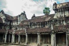 Siem oogst Angkor stock afbeelding