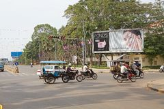 Siem oogst Angkor Royalty-vrije Stock Foto