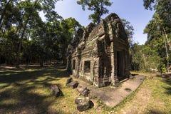 Siem oogst Angkor Wat Preah Khan is een tempel in Angkor, Kambodja, in de 12de eeuw voor Koning Jayavarman VII wordt gebouwd die stock afbeelding