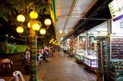 Siem oogst nachtmarkt, Kambodja Stock Foto's