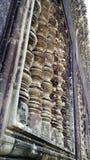 Siem Przeprowadza żniwa Kambodża świątyni ścianę obrazy royalty free