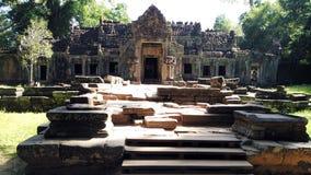 Siem Przeprowadza żniwa Kambodża świątyni otaczanie Obrazy Royalty Free