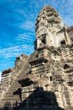 Siem Przeprowadza żniwa, Kambodża, Dec - 05 2016: Angkor Wat sławny Historyczny Obraz Stock