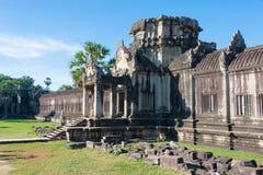Siem Przeprowadza żniwa, Kambodża, Dec - 05 2016: Angkor Wat sławny Historyczny Zdjęcia Royalty Free
