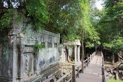 Siem Przeprowadza żniwa, Kambodża, Dec - 03 2016: Beng Mealea sławny Histori Obrazy Stock