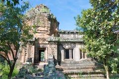 Siem Przeprowadza żniwa, Kambodża, Dec - 08 2016: Khleang w Angkor Thom fama Fotografia Stock