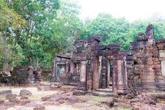 Siem Przeprowadza żniwa, Kambodża, Dec - 13 2016: Krol Ko w Angkor sławny h Zdjęcia Royalty Free