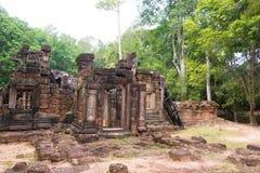 Siem Przeprowadza żniwa, Kambodża, Dec - 13 2016: Krol Ko w Angkor sławny h Fotografia Royalty Free