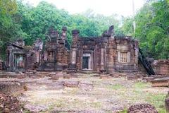 Siem Przeprowadza żniwa, Kambodża, Dec - 13 2016: Krol Ko w Angkor sławny h Zdjęcia Stock
