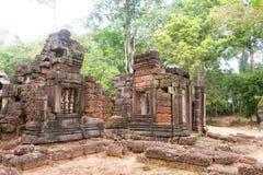 Siem Przeprowadza żniwa, Kambodża, Dec - 13 2016: Krol Ko w Angkor sławny h Obrazy Royalty Free